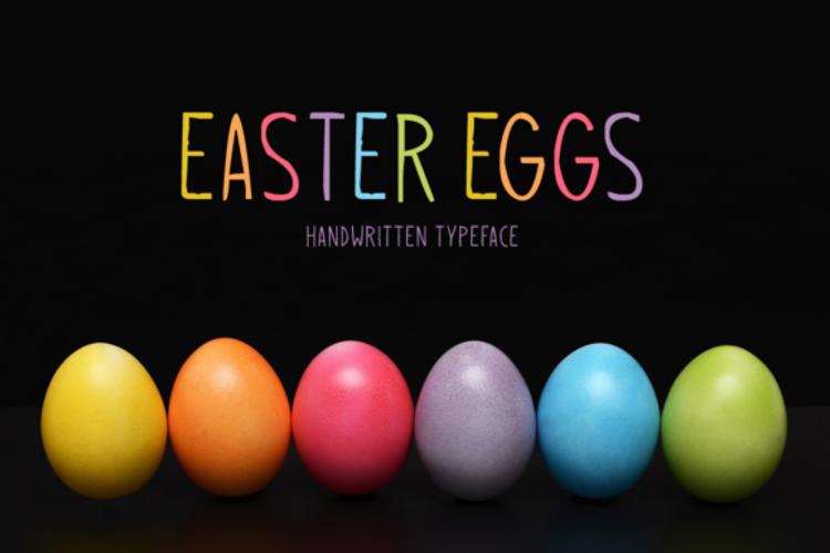 Easter Eggs Font