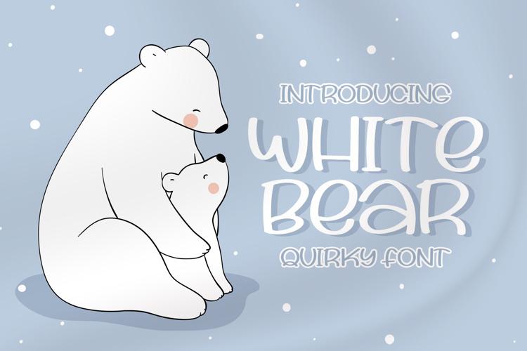 White Bear Font
