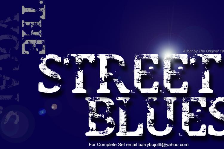 Street Blues Font