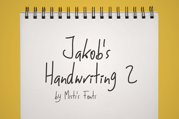 Jakobs Handwriting 2 Font
