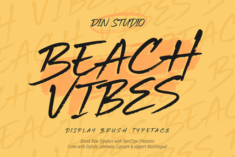 Beach Vibes Font