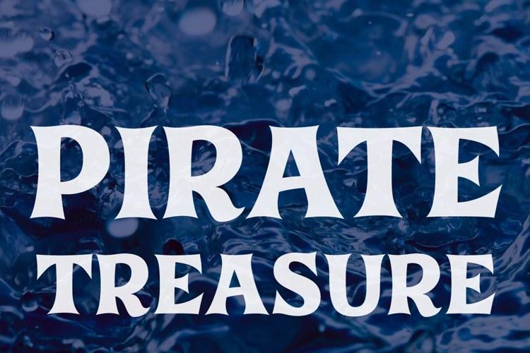 Pirate Treasure Font