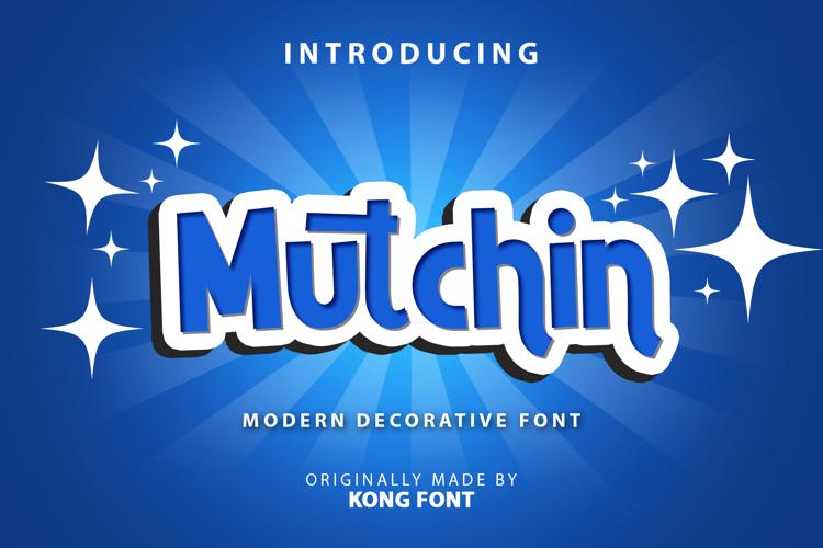 Mutchin Font