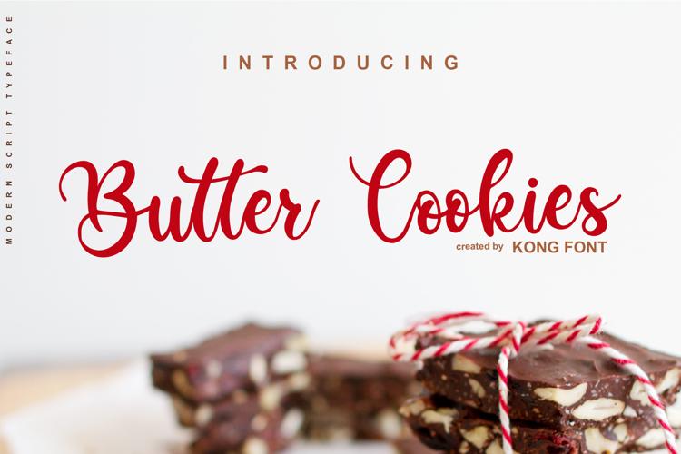 Butter Cookies Font