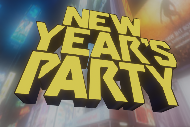New Years' Party Font