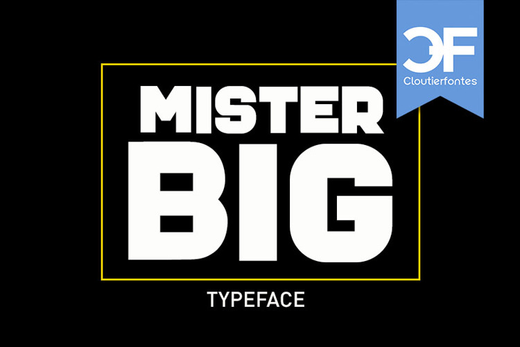 CF Mister Big PERSO Font