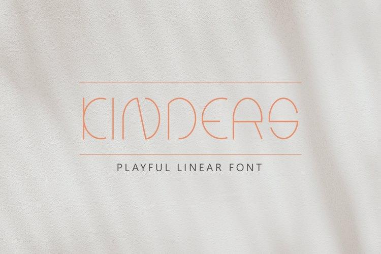Kinders Font