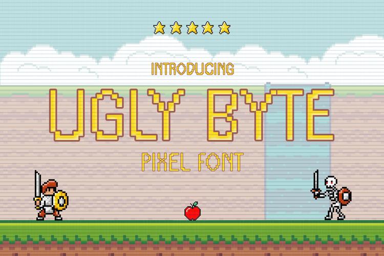Ugly Byte Font