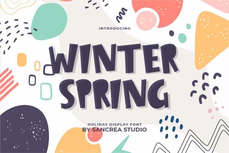 Winter Spring Font