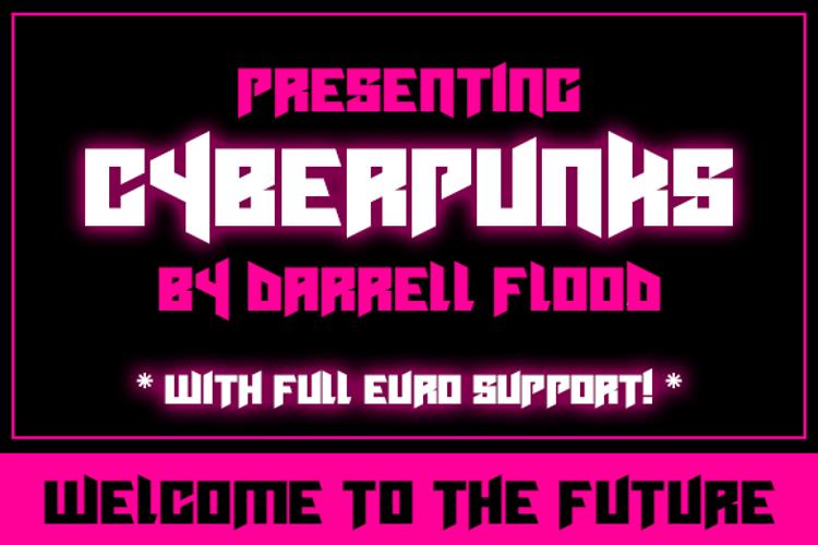 Cyberpunks Font