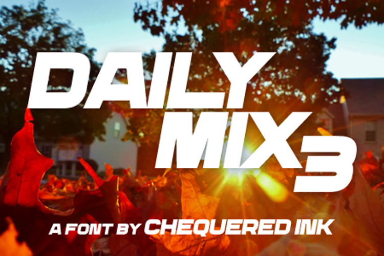 Daily Mix 3 Font