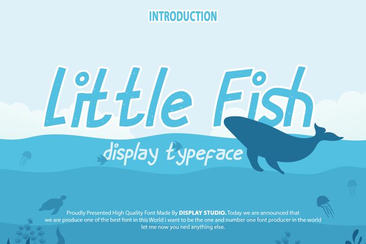 Little Fish Font