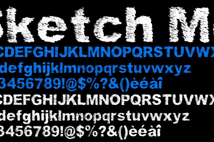 SketchMe Font
