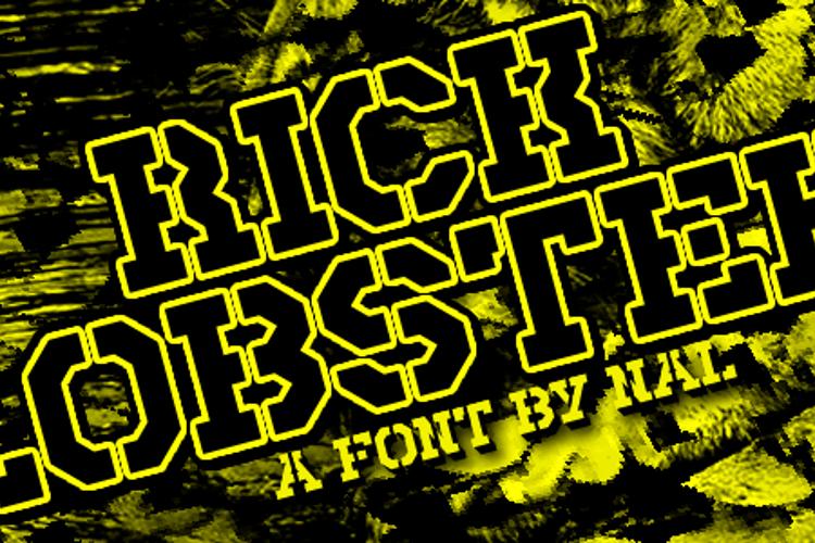 Rick Lobster Font