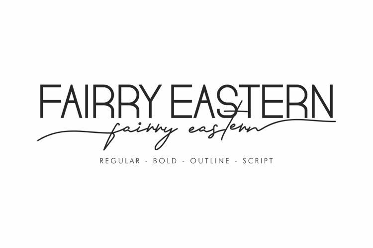 Fairry Eastern Font