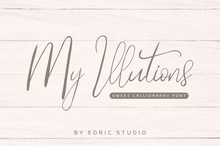 My Illutions Font