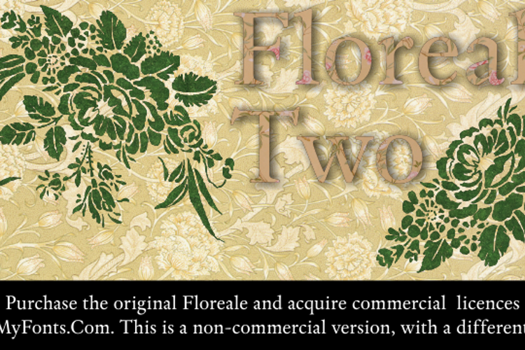Floreale Two Font