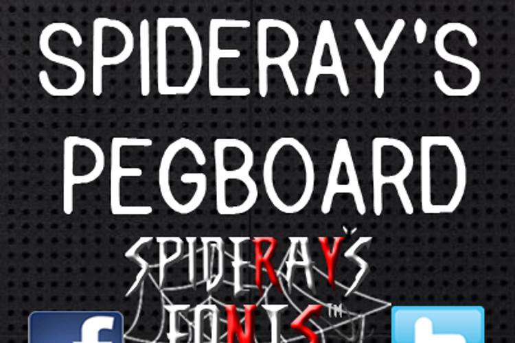 PEGBOARD Font