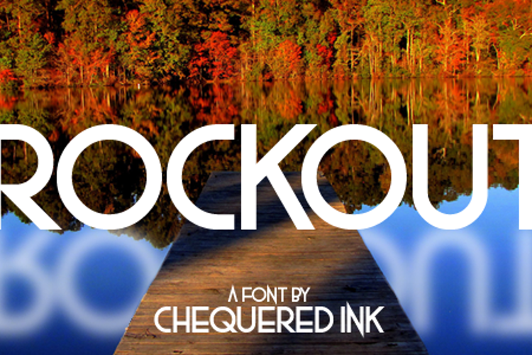 Rockout Font