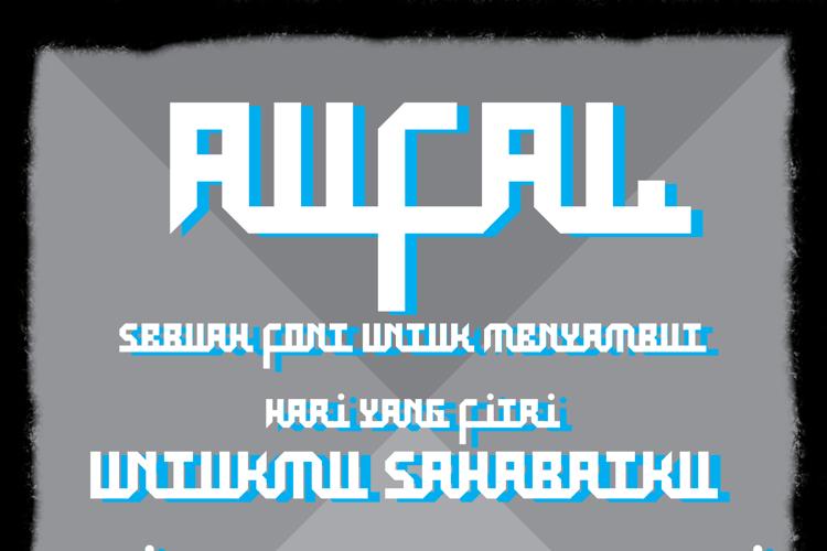 Aufal Font