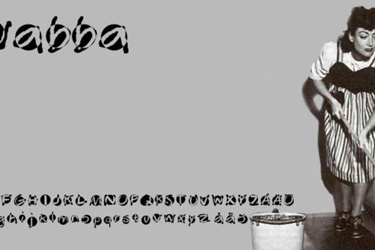 Swabba  Font