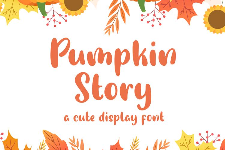 Pumpkin Story Font