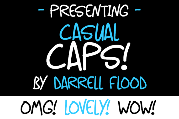 Casual Caps Font