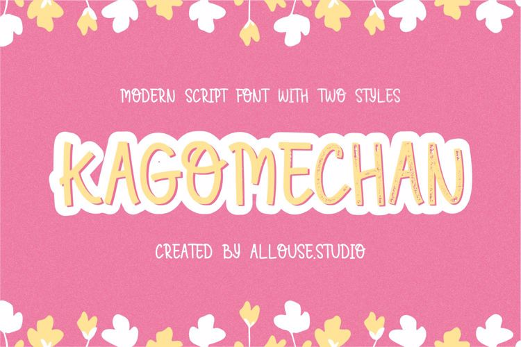 Kagomechan Font