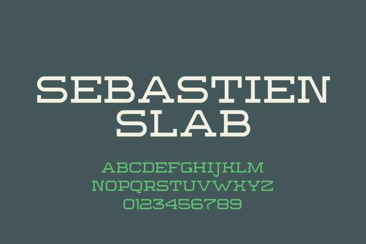 Sebastien Slab Font