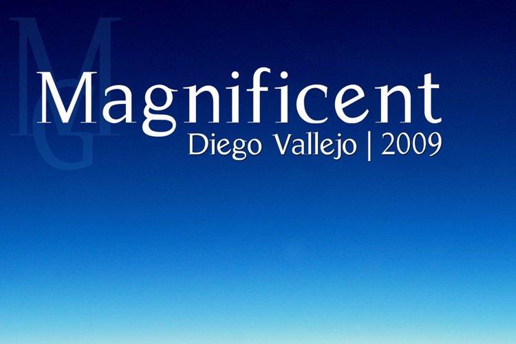 Magnificent Font
