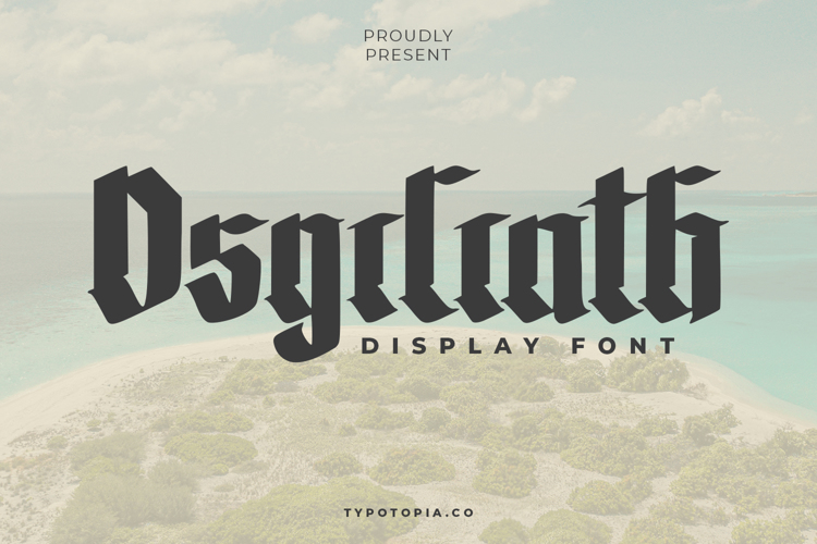 The Osgiliath Font