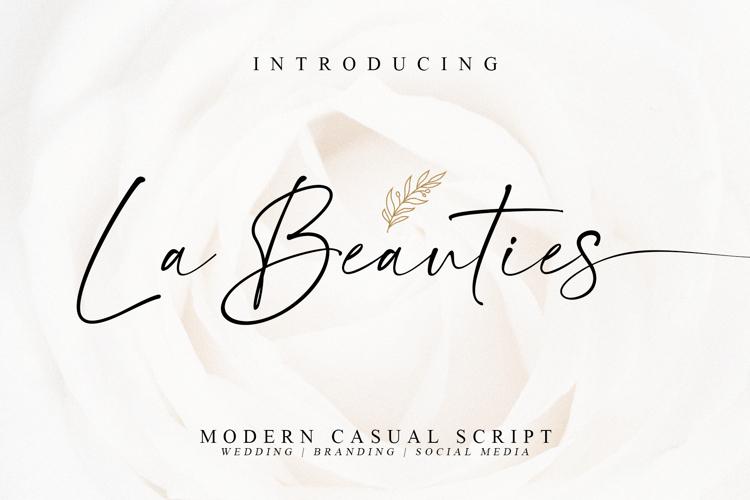 La Beauties Font