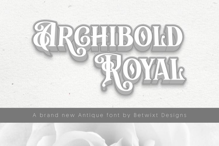 BTX Archibold Royal Font