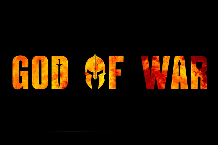god of war Font
