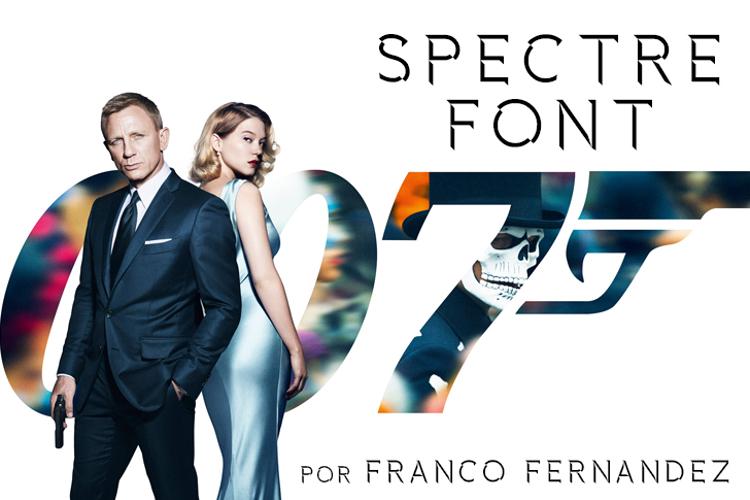 Spectre 007 Font