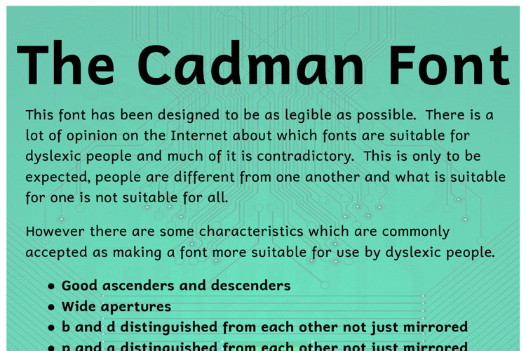 Cadman Font