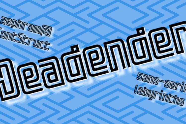 Deadender Font