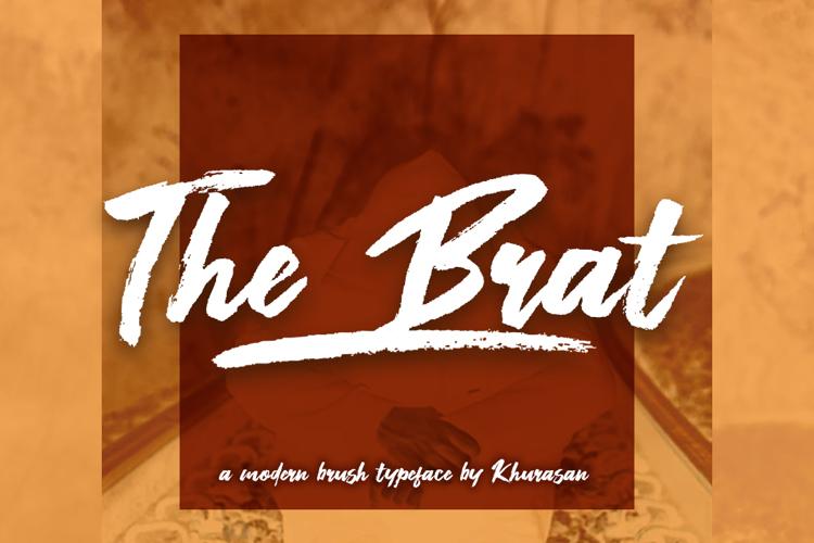 The Brat Font