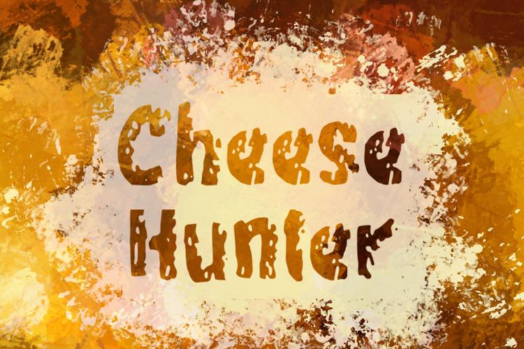 c Cheese Hunter Font