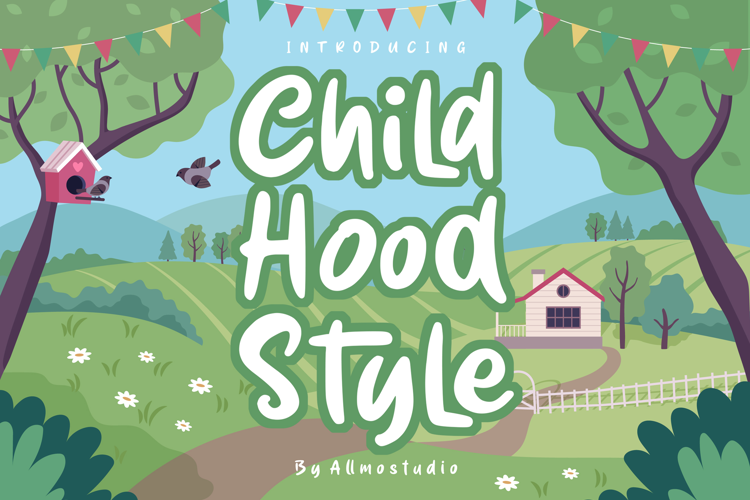 Child Hood Style Font