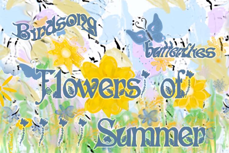 Flowers of Summer Font