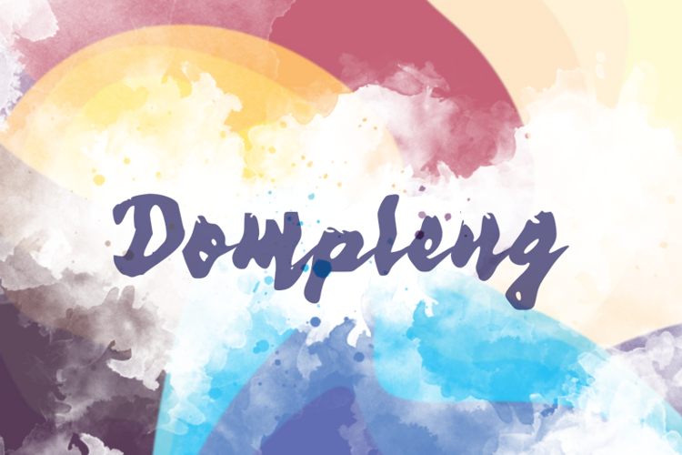d Dompleng Font