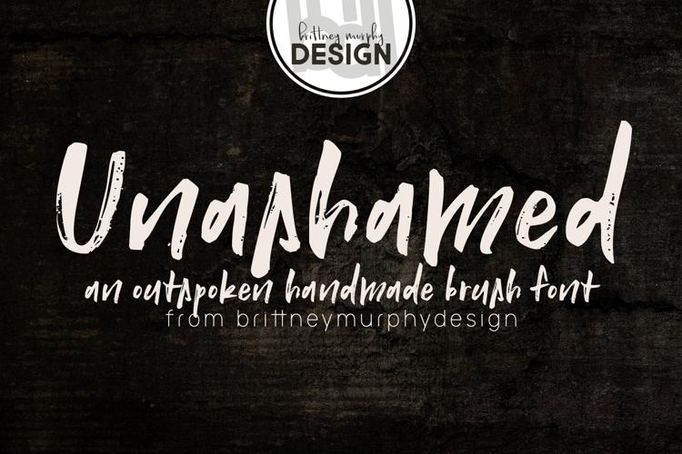Unashamed Font