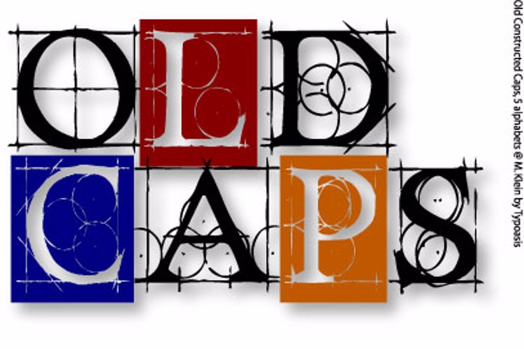 Old Constructed Caps Font