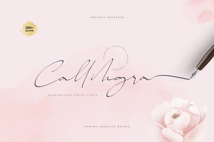 Callihgra Font