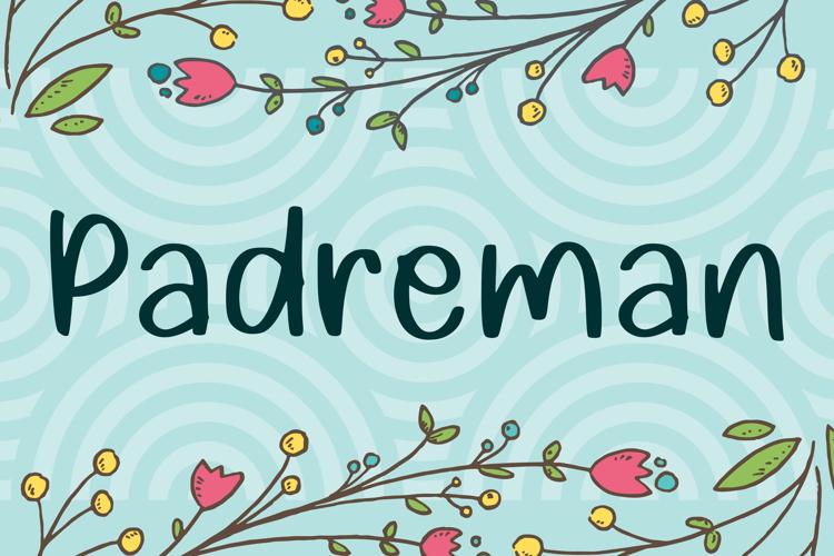 Padreman Font