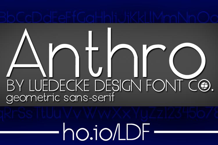 Anthro Font