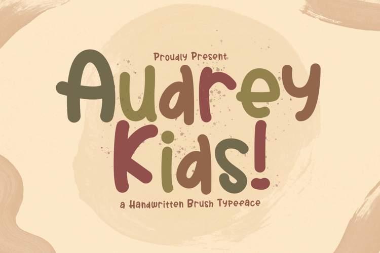 Audrey Kids Font