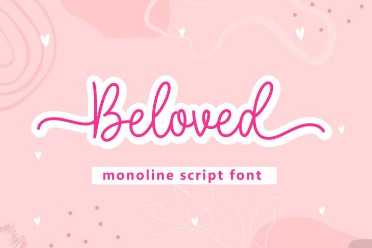 Beloved - Font