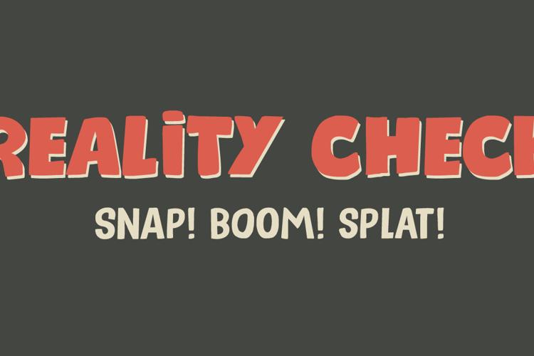 Reality Check II Font
